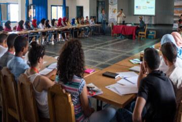 شباب جهة درعة تافيلالت، فاعلون في المغرب للوقوف ضد ظاهرة الإحتباس الحراري و لحماية البيئة