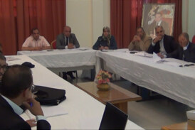 Meeting of the Administrative Office of the Organized CCISDT Errachidia September 30, 2016