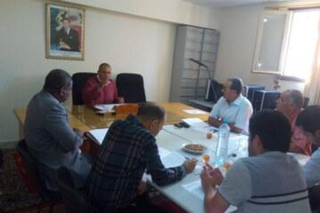 اجتماع لجنة القطاعات الإنتاجية وتشجيع الإستثمار