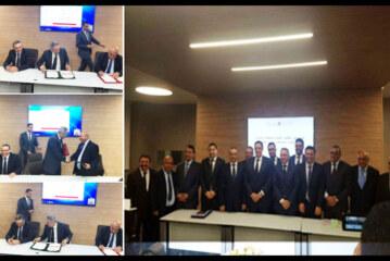 توقيع الاتفاقيات الخاصة بالمخططات التنموية لغرف التجارة والصناعة  والخدمات المغربية